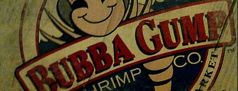 Bubba Gump Shrimp Co. is one of Tempat yang Disimpan Irene.