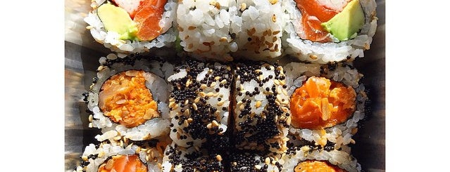 Yuzu Sushi and Robata Grill is one of 25 Top Sushi Spots in the U.S..