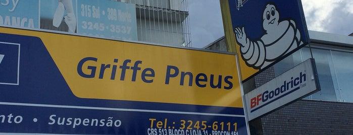 Griffe Pneus is one of Serviços @ Brasília.