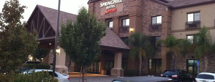 SpringHill Suites Temecula Valley Wine Country is one of Lieux qui ont plu à Kelly.
