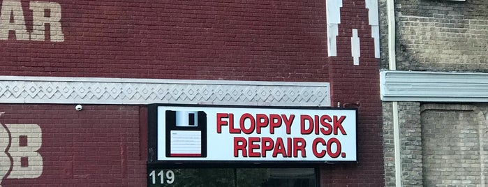 Floppy Disk Repair Co is one of Austin! ⚡️.