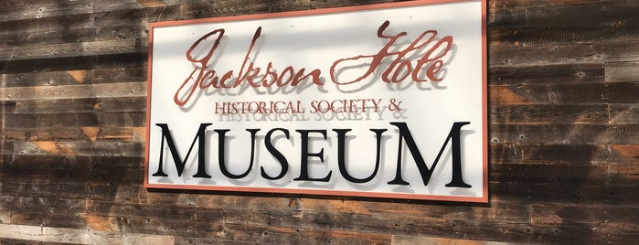 Jackson Hole Historical Society & Museum is one of Historic America.