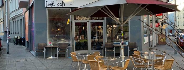 Café Kopi is one of Kübra'nın Kaydettiği Mekanlar.