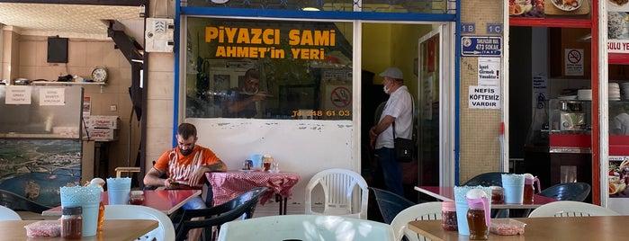 Piyazci Sami Ahmet' in yeri is one of Antalya.
