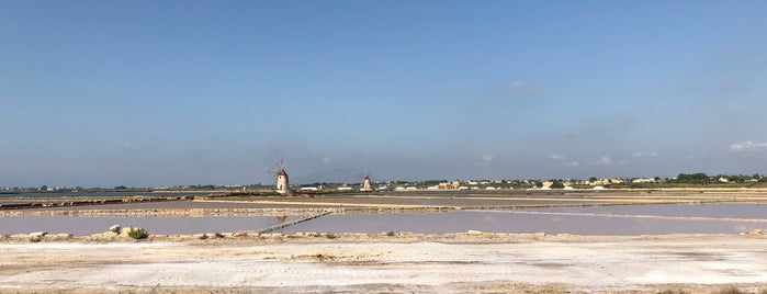 Le saline dello Stagnone is one of South Italy.