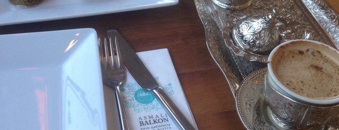 ASMALI BALKON CAFE § BİSTRO is one of Yasemin Angin : понравившиеся места.