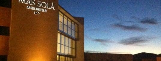 Hotel Mas Solà is one of สถานที่ที่ Xavi ถูกใจ.