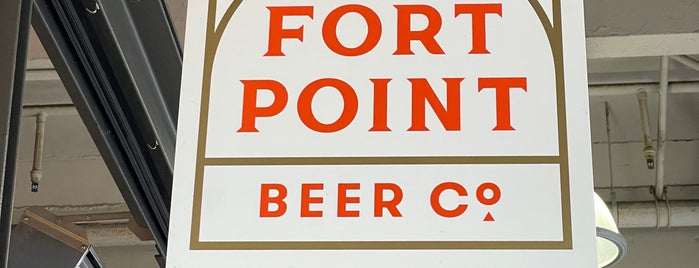 Fort Point Beer Company is one of SF Bay Area Breweries and Distilleries.