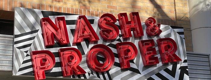 Nash & Proper is one of Sacramento.