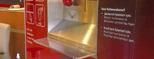 Akbank ATM is one of Posti che sono piaciuti a Hülya.