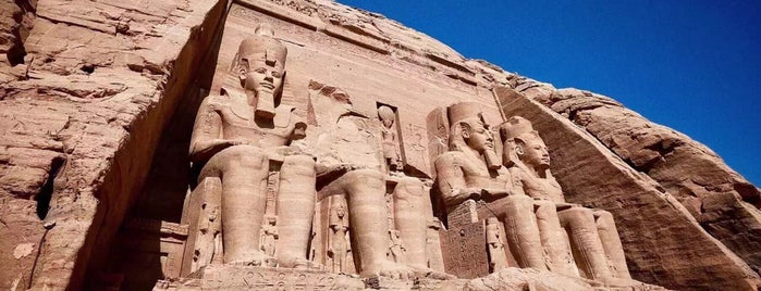 Great Temple of Ramses II is one of Lugares guardados de Irina.