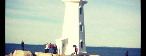 Peggy's Cove is one of Halifax.