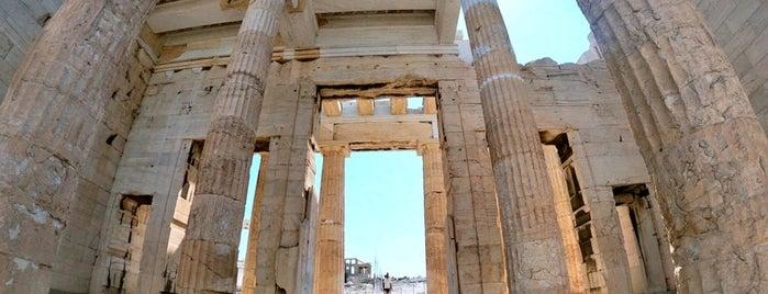 Propylaea is one of Carl : понравившиеся места.