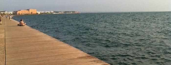 Νέα Παραλία - Ποσειδώνιο is one of Thessaloniki #4sqCities.