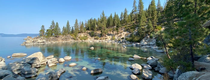 Secret Cove is one of Tahoe.