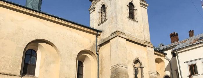 Храм Усіх Святих і монастир Покрови Пресвятої Богородиці сестер студиток is one of Lugares favoritos de Julia.