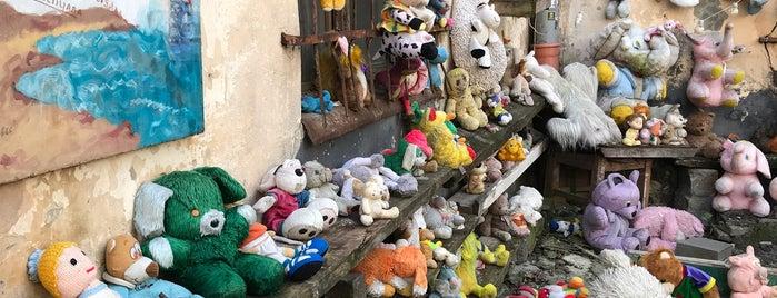 Двір-музей покинутих іграшок is one of สถานที่ที่ Ника ถูกใจ.