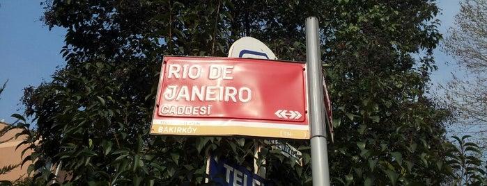 Rio De Janeiro Caddesi is one of Aytuğさんのお気に入りスポット.