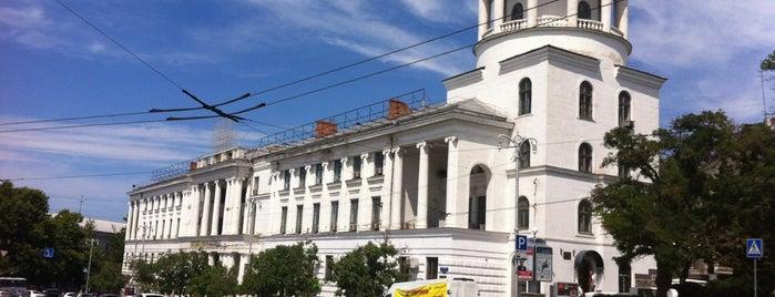 Площадь Лазарева / Lazarev Square is one of Sasha'nın Kaydettiği Mekanlar.