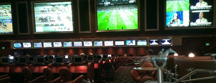 Bellagio Race And Sports Book is one of Vegas, Baby, Vegas.
