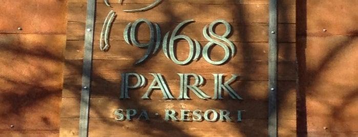 968 Park Hotel is one of Taaaahhhhoooooeeeeee.