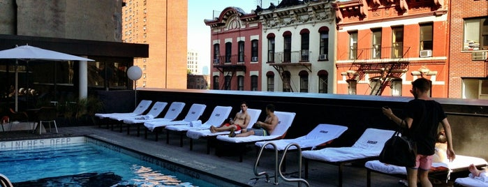Thompson Hotel Pool Deck is one of East.