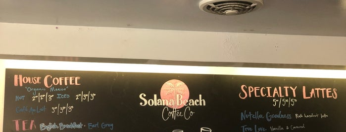 Solana Beach Coffee Co is one of San Diego.