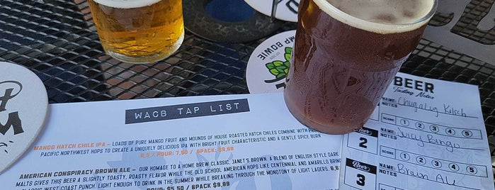 Wild Acre Brewing Co. is one of patio.