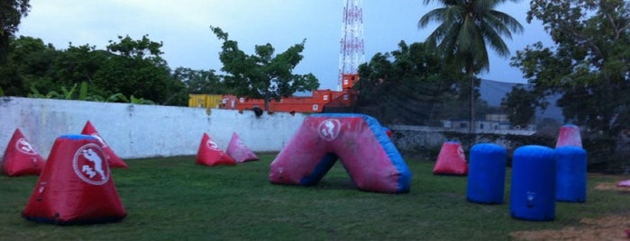 Anz Paintball Campo is one of สถานที่ที่บันทึกไว้ของ Alvaro Omar.