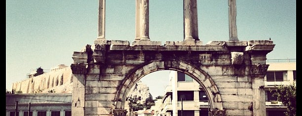 Hadrian's Arch is one of Athens: Main Sights.