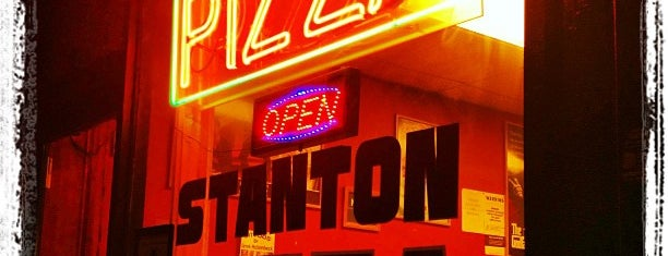 Stanton Pizza is one of NY Pizza By The Slice.