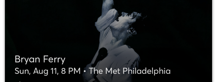 The Met Philadelphia is one of Ziggy goes to Baltimore.