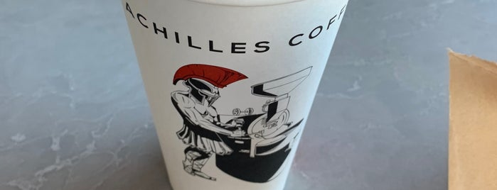 Achilles Coffee Roasters is one of San Diego 2020.