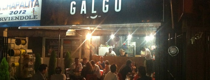 Galgo Hot Dogs y Hamburguesas Gourmet is one of Tempat yang Disimpan Naye.