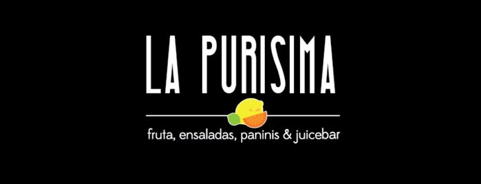 La Purisima Fruta, Baguettes, Ensaladas & JUICE BAR is one of Gespeicherte Orte von Armando.