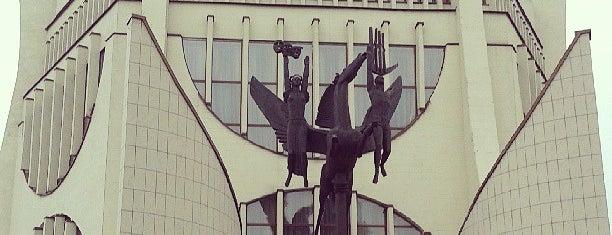 Гродненский областной драматический театр is one of Bengi: сохраненные места.