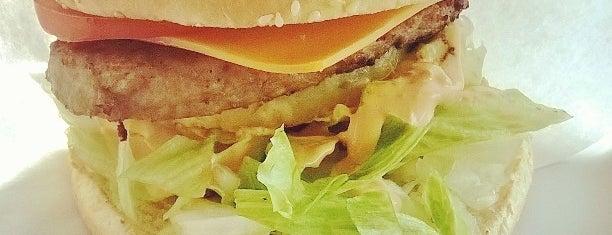 Maxi-burger is one of Lounas matkalla.