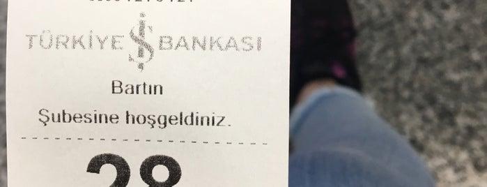 Türkiye İş Bankası is one of Mesut'un Beğendiği Mekanlar.