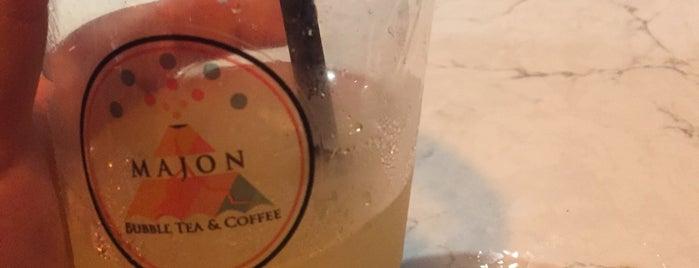 Majon Bubble Tea Coffee is one of Tempat yang Disukai Hilal.