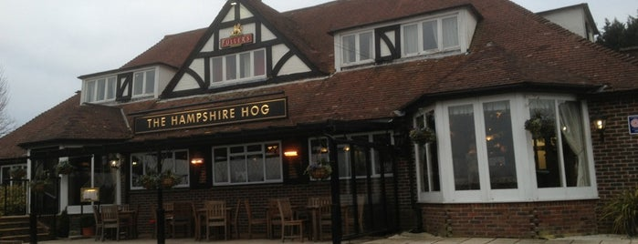 The Hampshire Hog is one of Tempat yang Disukai Carl.