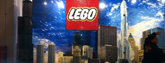 The LEGO Store is one of Wandering Chicago.