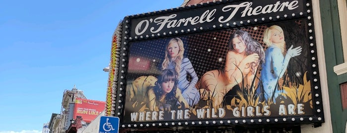 Mitchell Brothers O'Farrell Theatre is one of Around The World: The Americas 2.