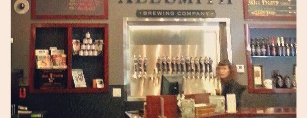 AleSmith Brewing Company is one of San Diego: Underground and Over Delivered.