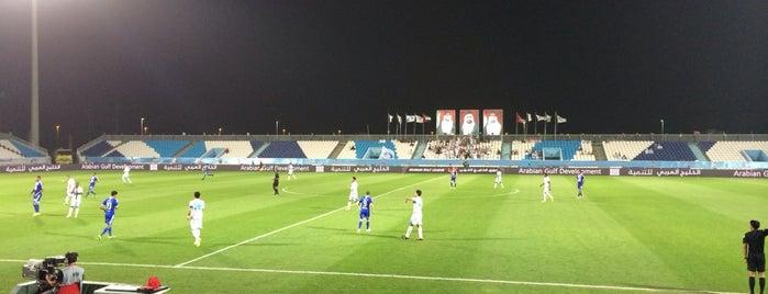 Baniyas Stadium is one of Raedさんのお気に入りスポット.