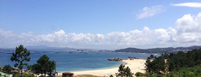 Praia Area Grande is one of To do's Sanxenxo.