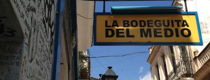 La Bodeguita del Medio is one of Havana.