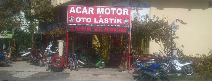 acar motor is one of Ahmet Murat : понравившиеся места.