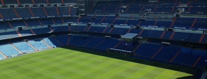 Santiago Bernabéu Stadyumu is one of 2013-14 La Liga Stadium.