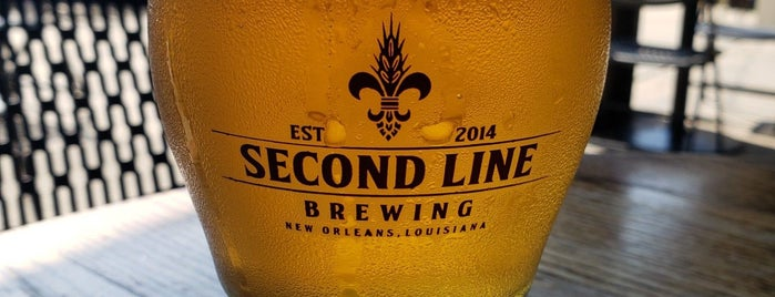 Second Line Brewing is one of NOLA Breweries.