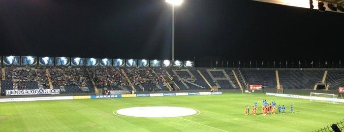 Osmanlı Stadyumu is one of Berke'nin Beğendiği Mekanlar.